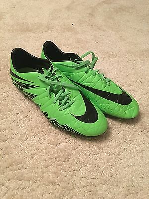 Nike Green Football / Rugby Boots Size 8.5