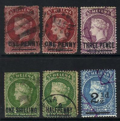 St Helena Small Used Surcharge Selection