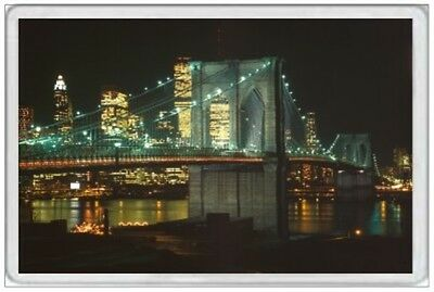 Brooklyn Bridge - Jumbo Fridge Magnet  Manhattan New York United States America