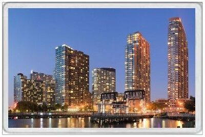Long Island - Jumbo Fridge Magnet  Manhattan New York United States America