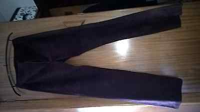 Gucci Vintage Suede Trousers