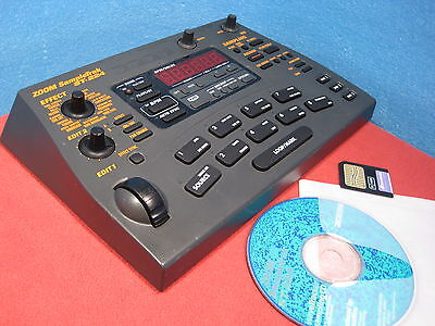 ZOOM ST-224 SampleTrak w/16MB Card & CD (groovebox SP 202 303 404 MPC) Used
