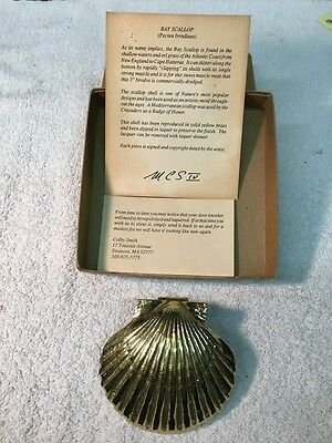 Handcrafted Colby Smith Bay Scallop Door Knocker