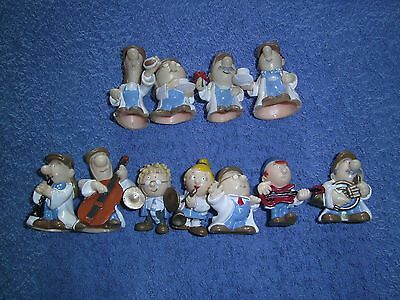11 Charactors Including The Band From The Tetley Tea Folk