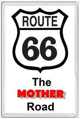 Route 66 - Jumbo Fridge Magnet -  The Mother Road  United States America