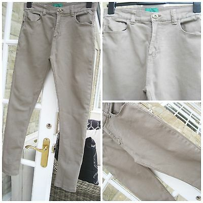 Boys NEXT beige jeans, age 14 years