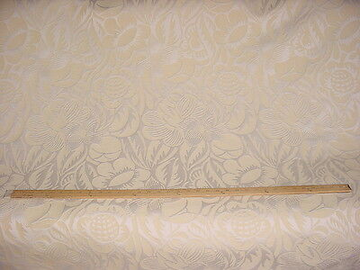 12+Y Scalamandre 26755 Bossa Nova Wool Linen Damask Brocatelle Upholstery Fabric