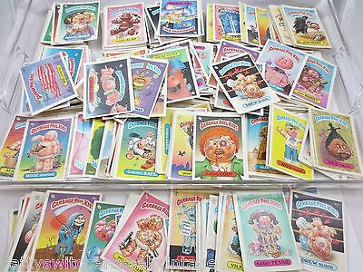 Estate LOT 1980's Topps GARBAGE PAIL KIDS Sticker Collector Trading Cards