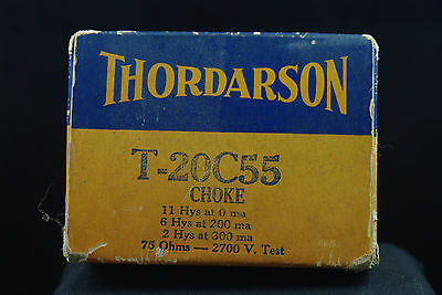 One Thordarson Type T-20C55 Variable Choke