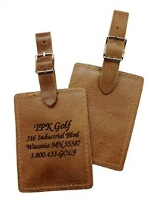 Personalized Leather Golf Bag Tag