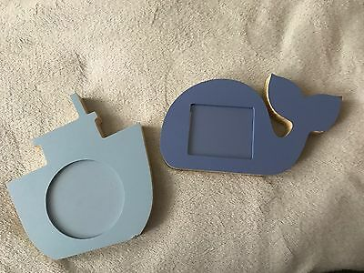 Mothercare Whale And Boat Photo frames