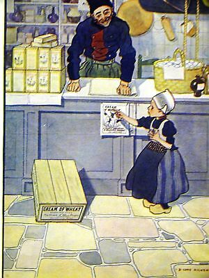 Cory Kilvert CREAM OF WHEAT Ad LEST WE FORGET 1922 Matted