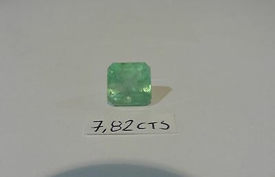 Beautiful Natural Colombian EMERALD Gemstone Loose 7.82 Cts