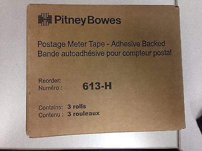 613-H 3-Pack Compatible Connect Tape for Pitney Bowes Postage Machine Connect