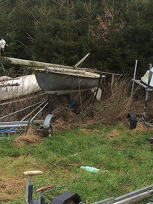 Flying 15 Sailing Dinghy / Yacht / Keelboat with trailer project