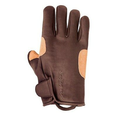 Singing Rock Grippy Leather Gloves M-9