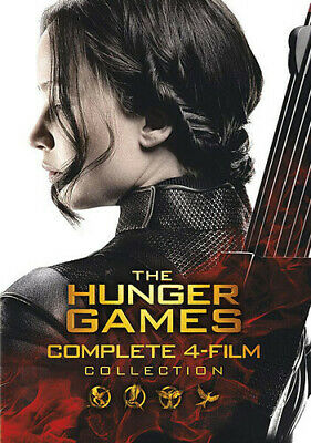 Hunger Games: Complete 4 Film Collection - 8 DISC SET (2016, DVD NEW)
