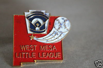 west mesa little league Pin Badge - USA Sport