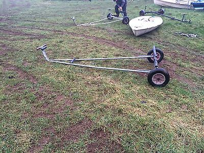 Rapide Galvanised Launching Trolley For Sailing Dinghy / Boat