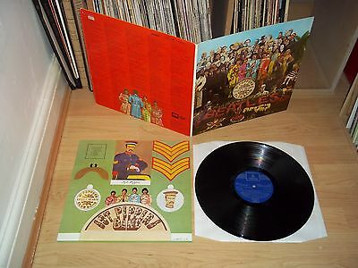 THE BEATLES Sgt Peppers SPANISH 1967 ODEON EMI PFSL 9.000 with INSERT