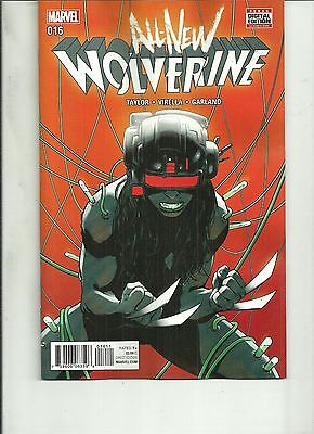 ALL NEW WOLVERINE #16  Marvel Comic 1ST PRINT 2017