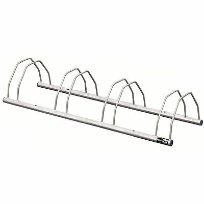 4 Bike Galvanized Floor/wall Mounted Bicycle Storage Rack Stand For Cycle