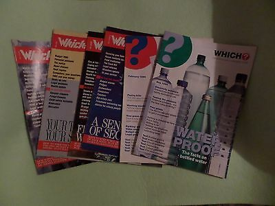 Which? Magazines. Vintage editions. 6 copies