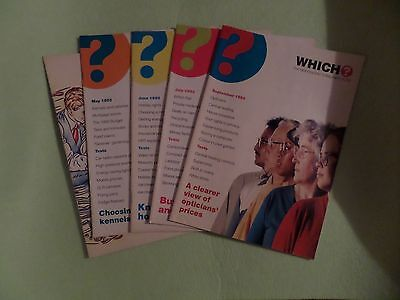 Which? Magazines. 5 editions from 1993