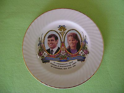 Commemoration Plate. HRH Prince Andrew & Sarah