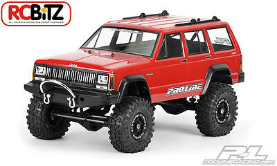Jeep Cherokee 1992 Clear Body PL3321-00 Axial SCX10 Honcho decal window masks