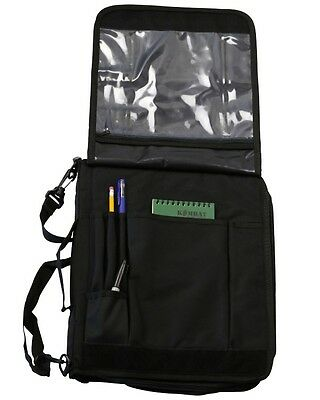 Black Tactical A4 Folder Note Book/Laptop Holder Army Security Police Forces