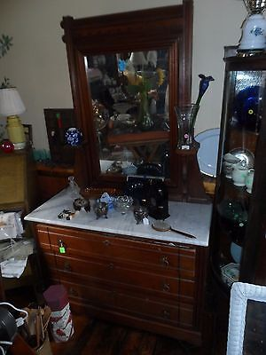 Gorgeous Oaken Wood Antique Dresser From Late 19Th Century Rare!!!