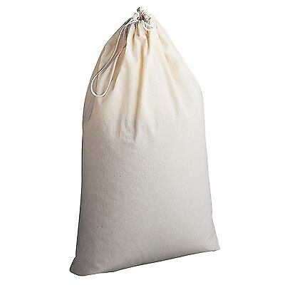 1 New Heavy Duty Ivory Commercial Canvas Bag College Gym Laundry Bag 30''x40''