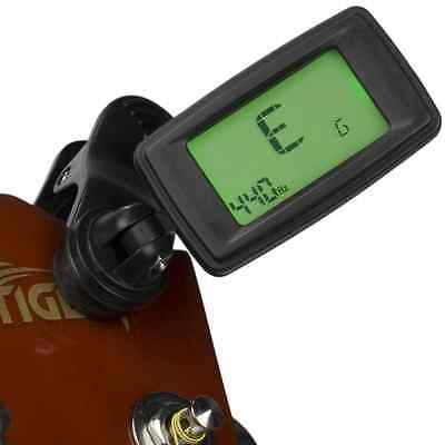 Eno Mini Clip On Tuner - Guitar,  Bass, Violin, Ukulele,  Wind &