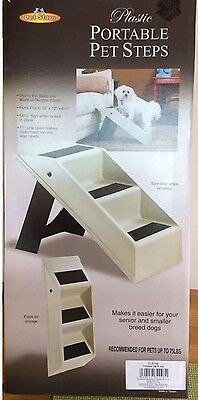Portable Pet Steps Inside Or Outdoor Use (New And Boxed) Dog Or Cat Step