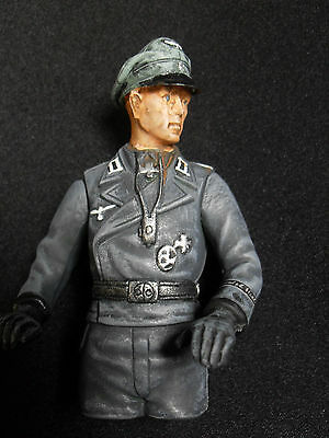 1/16 RC GERMAN TANK COMMANDER PRO-PAINTED + CONVERTED HENG LONG. 120mm see pics.