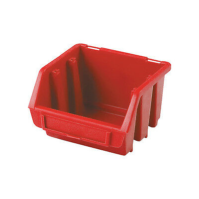 Matlock Mtl1 Hd Plastic Storage Bin Red