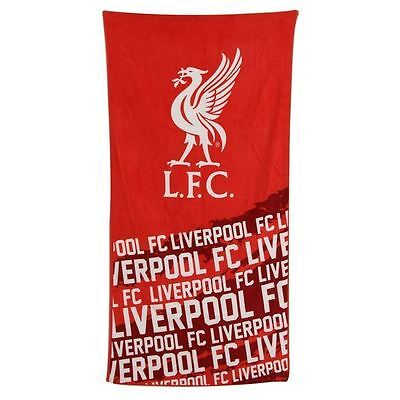 Liverpool FC Official Licensed Velour Beach Team Towel