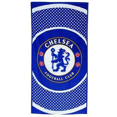 Chelsea FC Official Licensed Velour Beach Team Towel BE