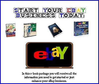 eBAY HOW TO MONEY MAKING GUIDE EBOOK LOT