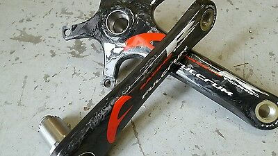 Fulcrum RACING TORQ R Ultra Torque CARBON Crank Arms FIT CAMPAGNOLO (NEW) 170mm