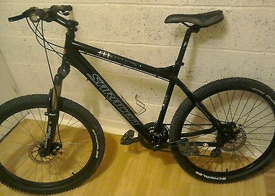 "Mens mountain bike Saracen Mantra Hardtail 19"" frame 26""wheel mtb offroad."