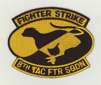 USAF patch Aufnäher 8 Tactical fighter squadron F15A Holloman AFB