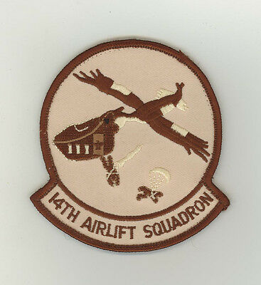 USAF patch Aufnäher 14 Airlift Squadron C17 Charleston AFB
