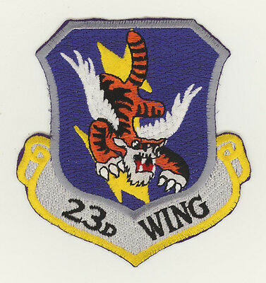 USAF patch Aufnäher 23 Wing A10/OA10 / HH60G HC1130P Moody AFB