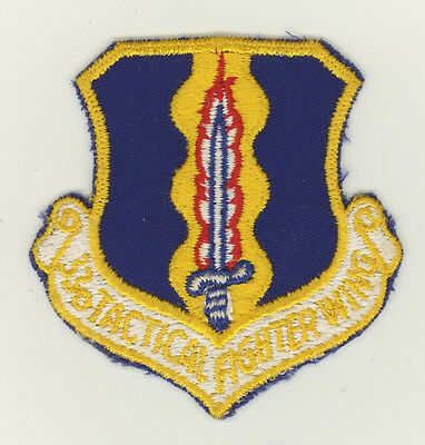 USAF patch Aufnäher 33 Tactical Fighter Wing F15C Eglin AFB