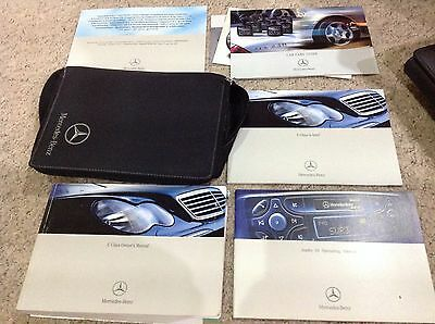 Mercedes C-Class Saloon Estate  Owners Manual Handbook 2000-2004