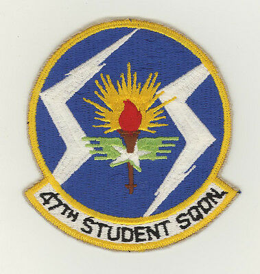 USAF patch Aufnäher 47 Student Squadron T37 / T38 Laughlin AFB