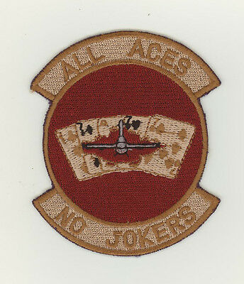 USAF patch Aufnäher 77 Fighter Squadron F16C Shaw AFB desert