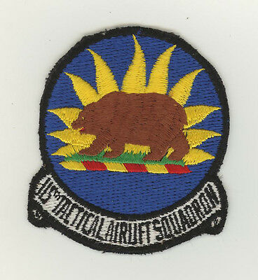 USAF patch Aufnäher 115 Tactical Airlift Squadron C130E Channel Islands ANGS